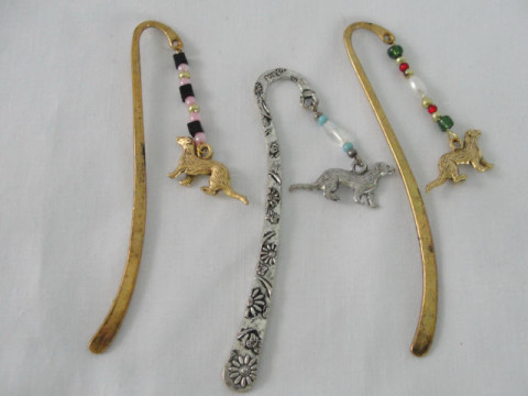 Ferret Charm Bookmark Ferret Treasures Store