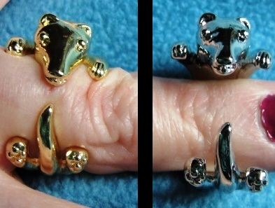 Ferret Wrap Ring - Two Colors Ferret Treasures Store