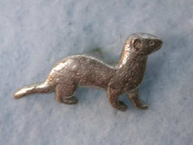 Store Small Pewter Ferret Pin Ferret Treasures Store