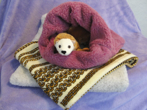 Berber Ferret Sleep Sack Ferret Treasures Store