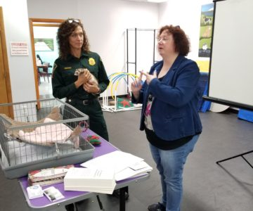 Executive Director Vanessa Gruden Explains How to Hold a Ferret