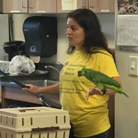 Samantha Talks About Parrots